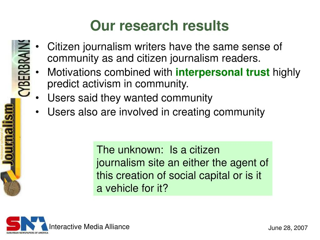 Our research results