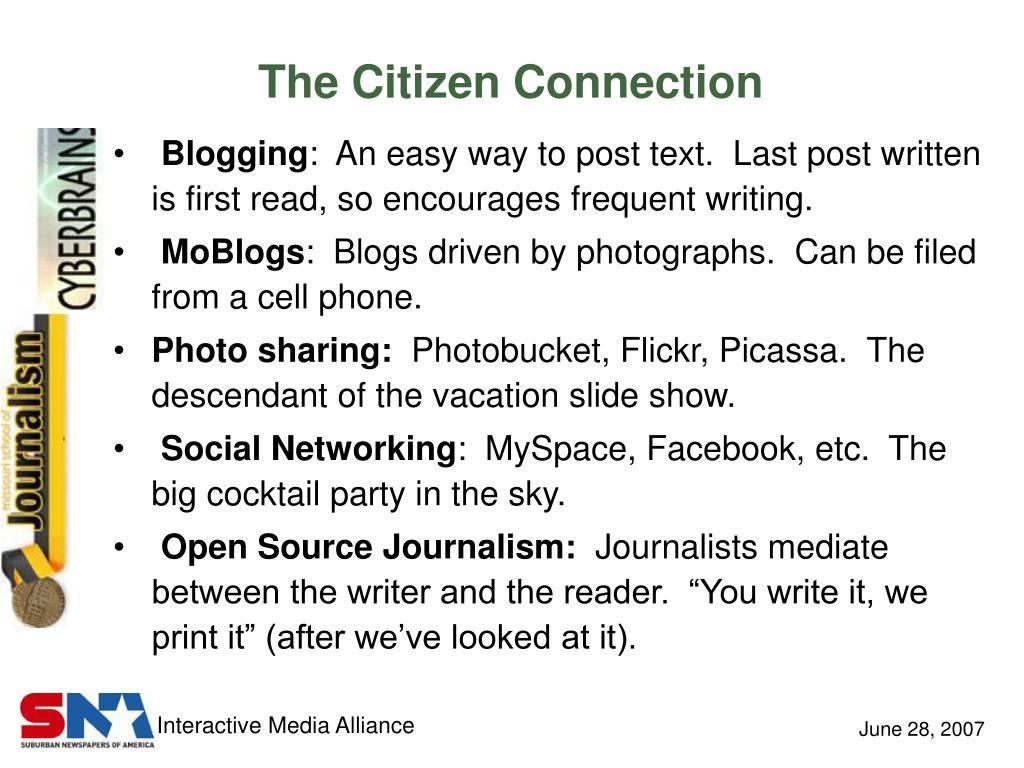 The Citizen Connection
