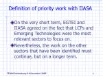 definition of priority work with iiasa4