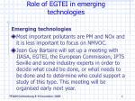 role of egtei in emerging technologies6