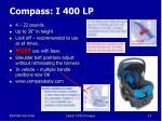 compass i 400 lp