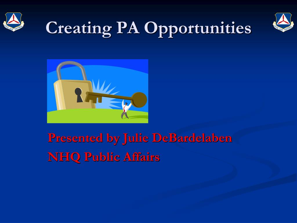 creating pa opportunities l.