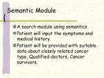 semantic module