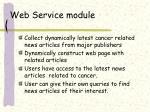 web service module