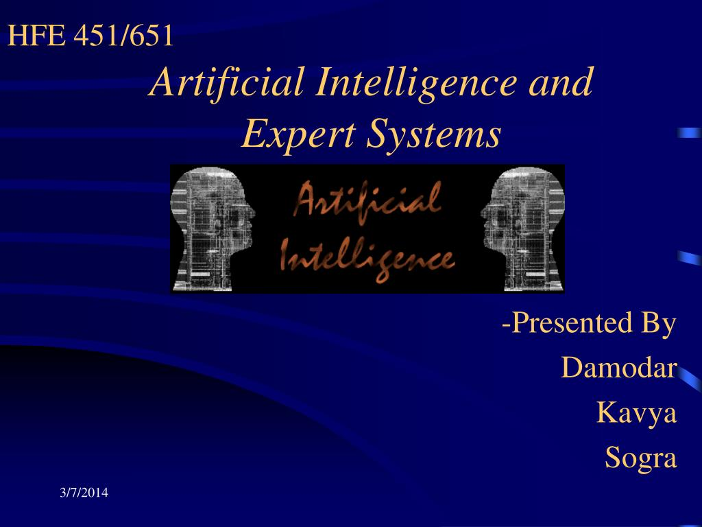 artificial intelligence and expert systems l.
