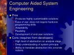 computer aided system engineering