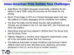 asian american print outlets face challenges