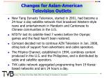 changes for asian american television outlets