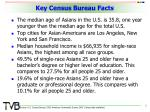 key census bureau facts