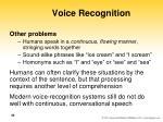 voice recognition44