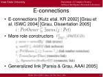 e connections