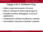 happy life in software eng