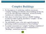 complex buildings