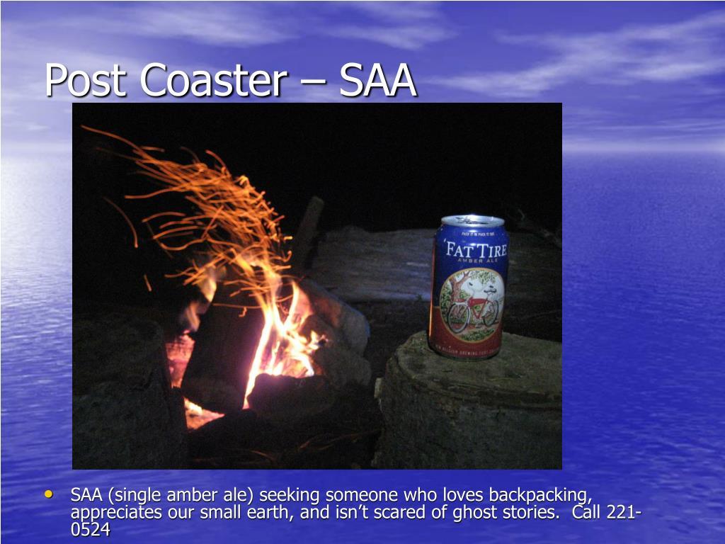 Post Coaster – SAA