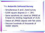 the antarctic infrared survey1