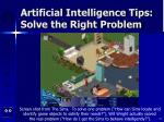 artificial intelligence tips solve the right problem57