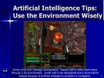 artificial intelligence tips use the environment wisely42