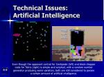 technical issues artificial intelligence5