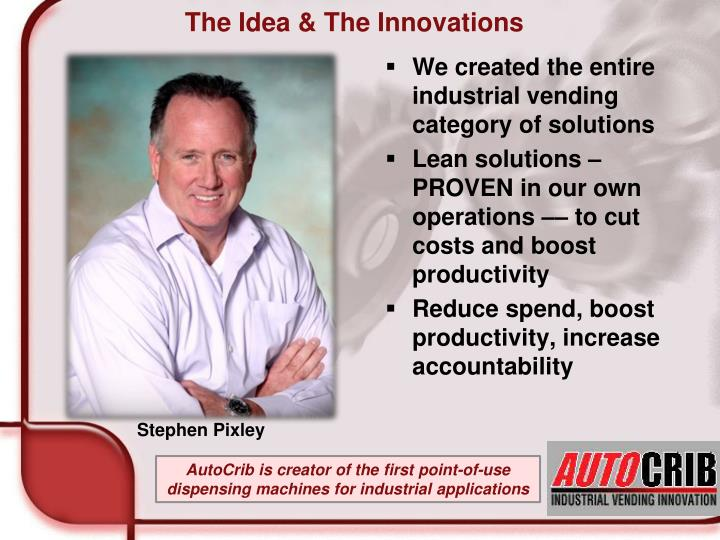 The idea the innovations