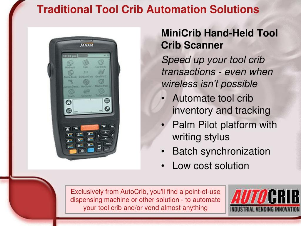 Traditional Tool Crib Automation Solutions