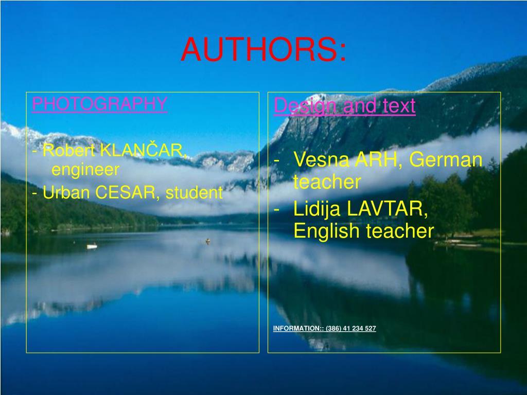 authors l.