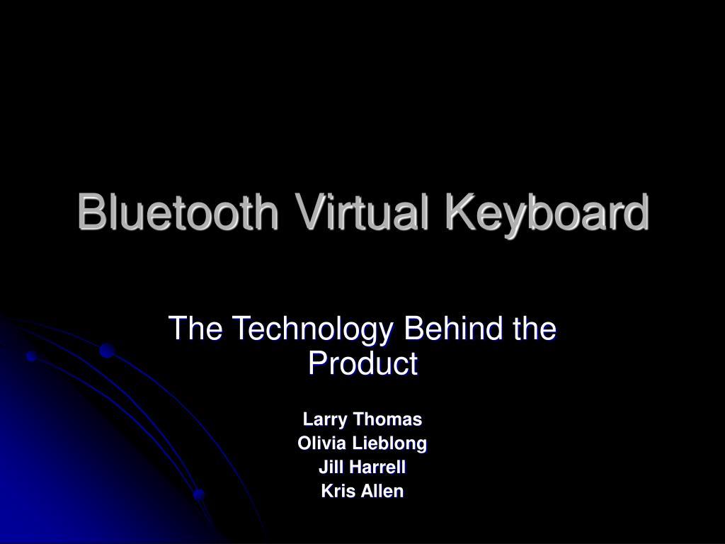 bluetooth virtual keyboard l.
