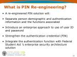 what is pin re engineering