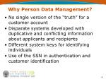 why person data management