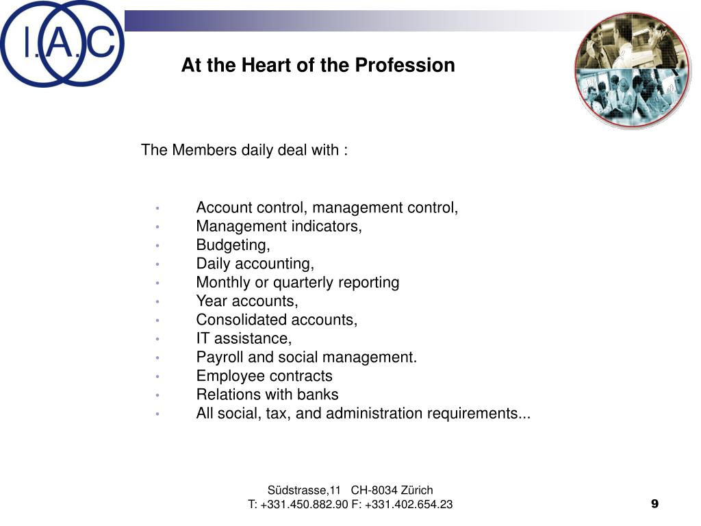 At the Heart of the Profession
