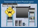 demonstration system physical layout