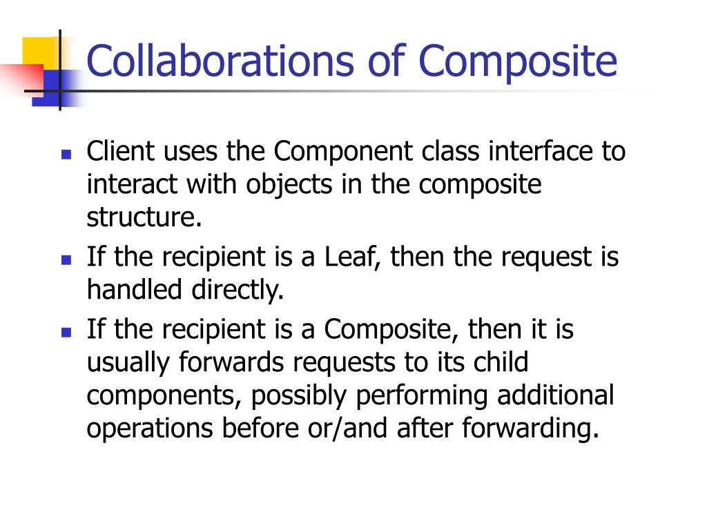 Collaborations of Composite
