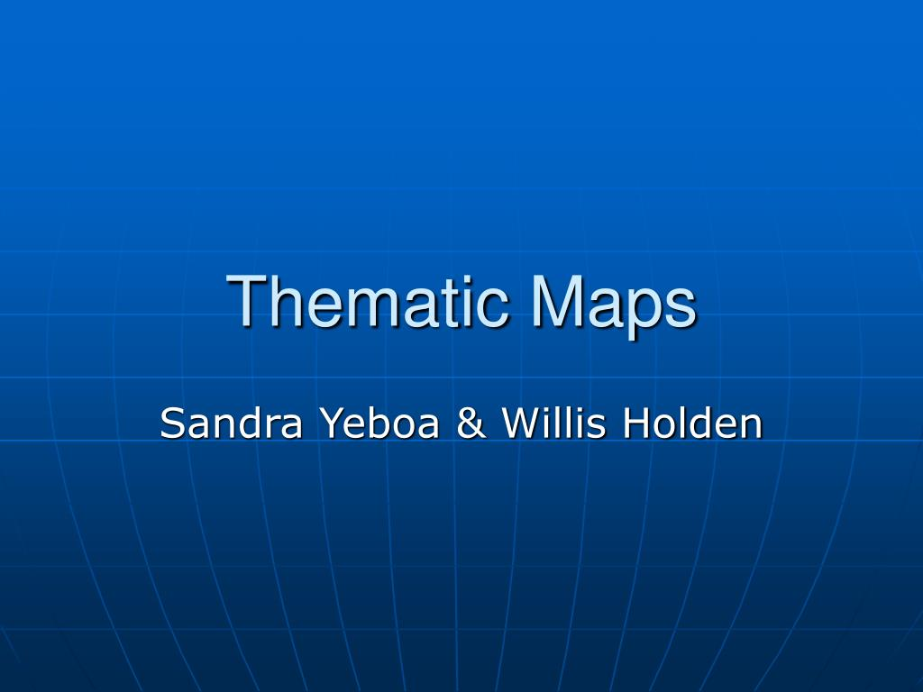 thematic maps l.
