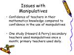 issues with manipulatives10