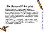 six general principles27