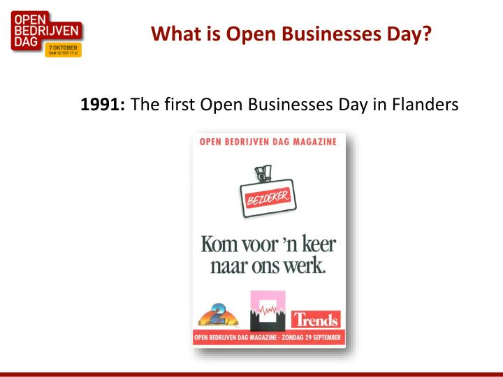 What is open businesses day3