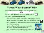virtual white board vwb