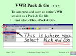 vwb pack go 2 of 5