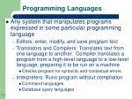 programming languages8