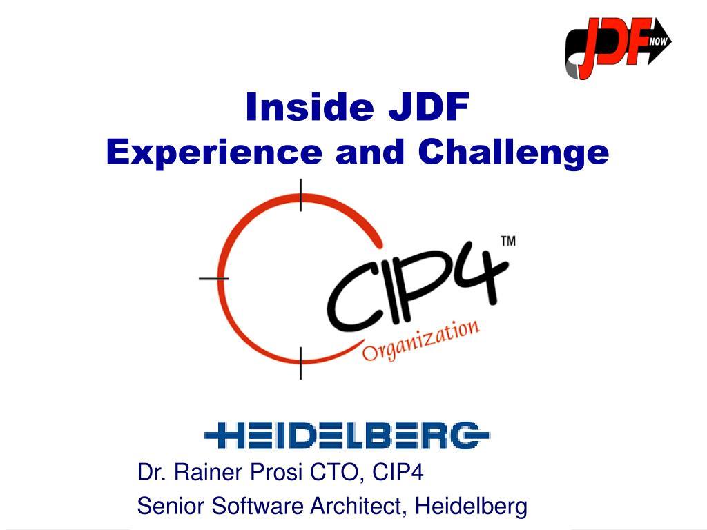 dr rainer prosi cto cip4 senior software architect heidelberg l.