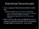 actionscript deconstructed