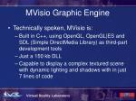 mvisio graphic engine