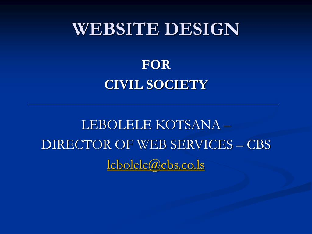 website design l.