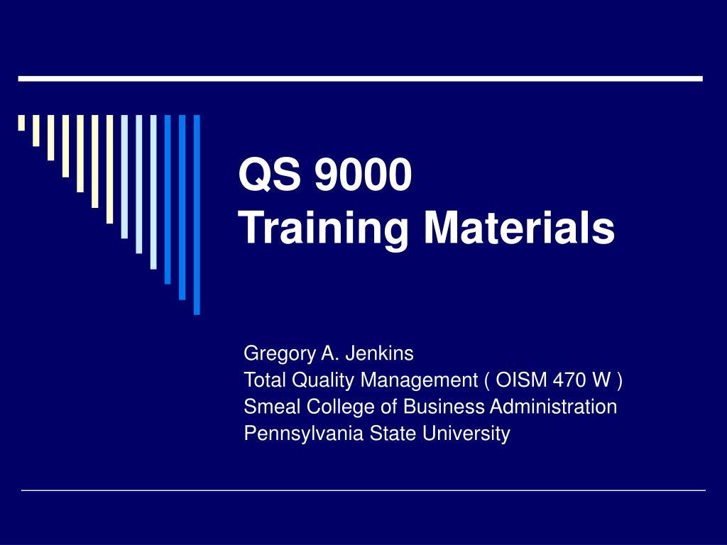 QS 9000