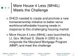 more house 4 less mh4l meets the challenge