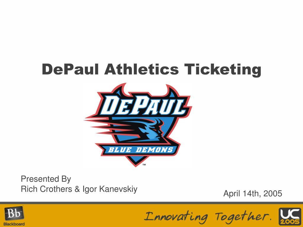 depaul athletics ticketing l.