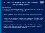 all in 1 office server communigate pro interoperability options