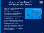 communigate pro 4 3 sip registration service