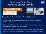 customer case study wireless service provider