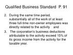 qualified business standard p 91120