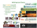 wild apricot clients